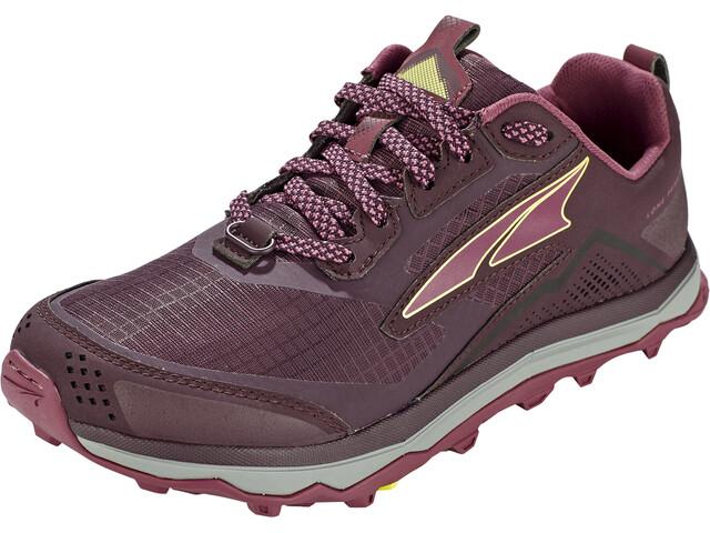 Altra Lone Peak 5 Running Shoes Women, rosa/gris